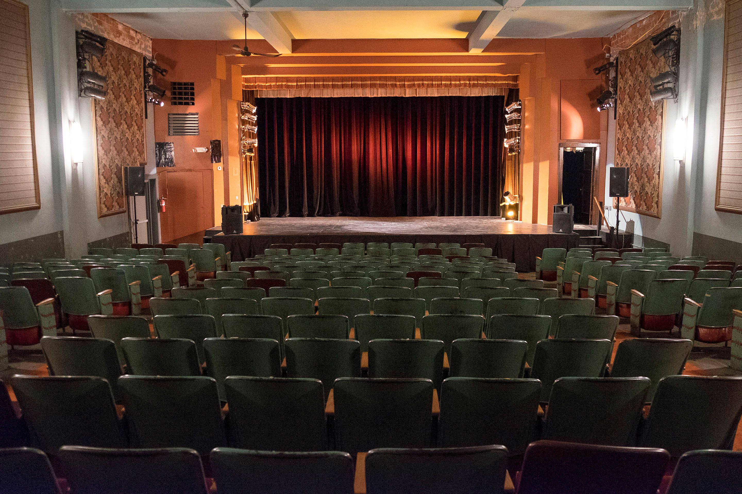 State Theatre in Zumbrota - Photo by Mark Lieberman - October 18, 2016