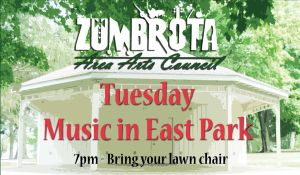 Concert at Zumbrota East Park