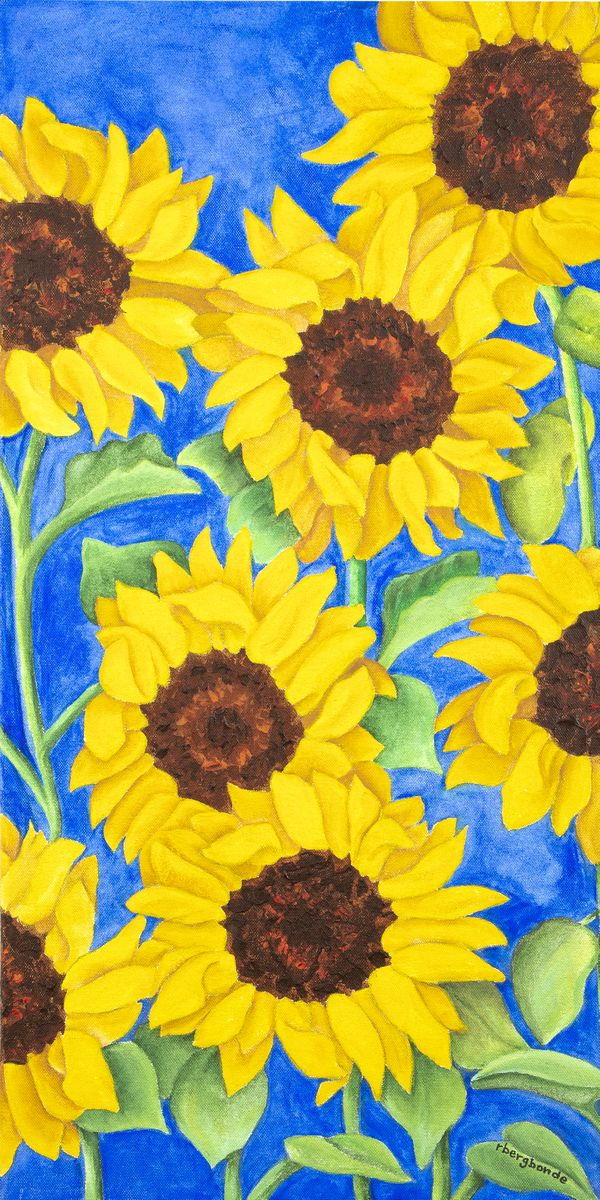 Sunflowers Say Summer