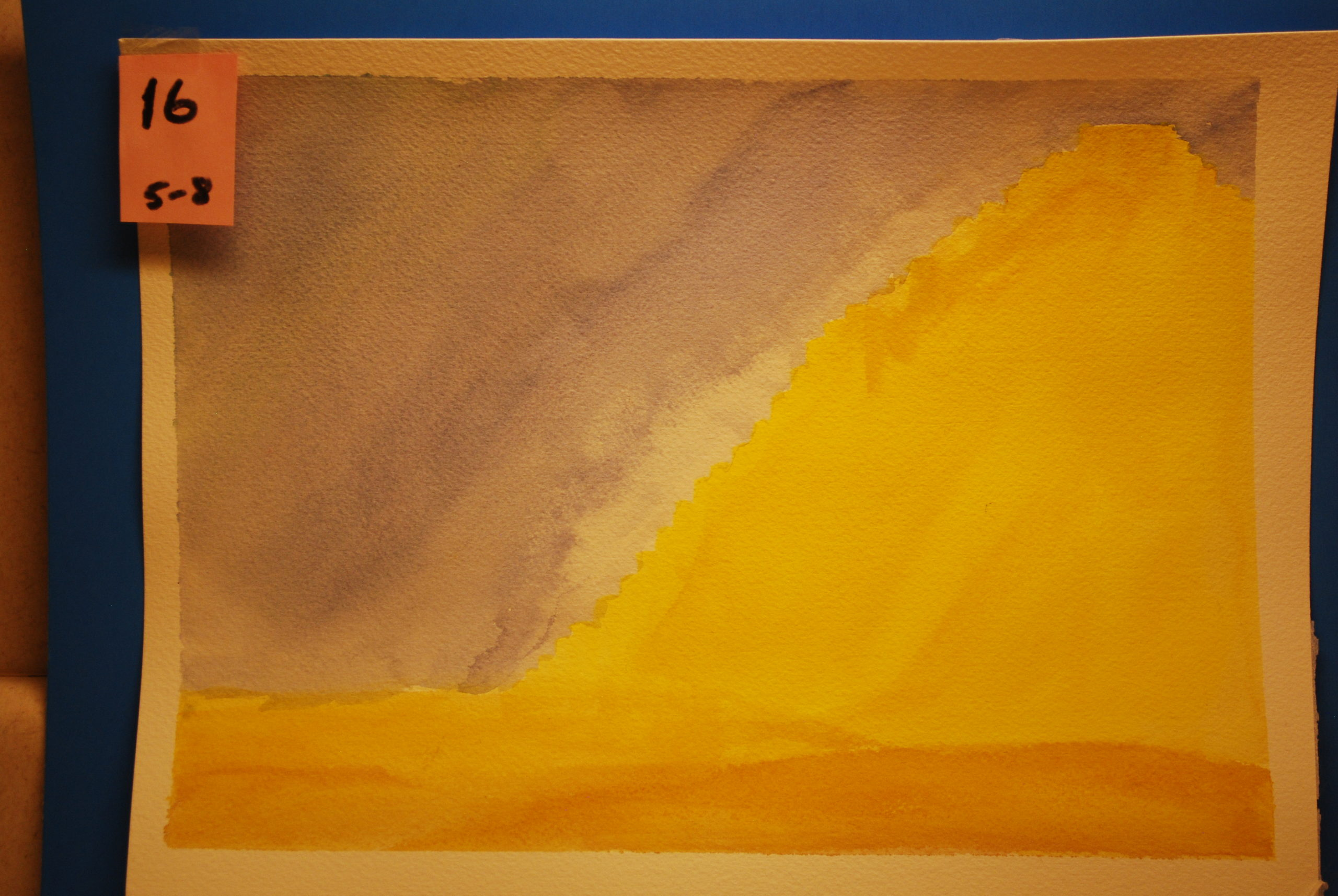 YAC 2020 #16 5-8 Yellow Pyramid b