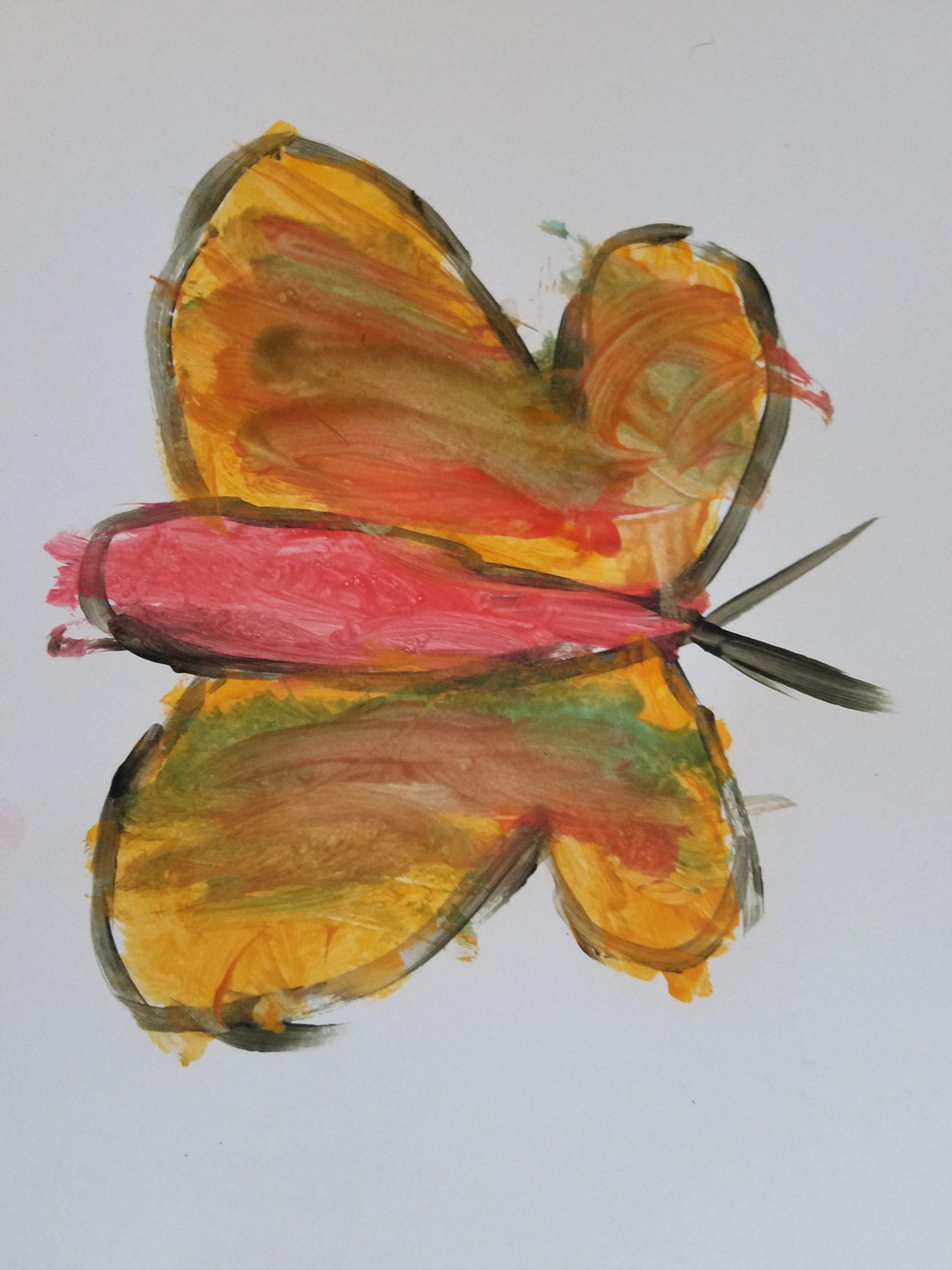 YAC 2020 #29 Pre-K butterfly