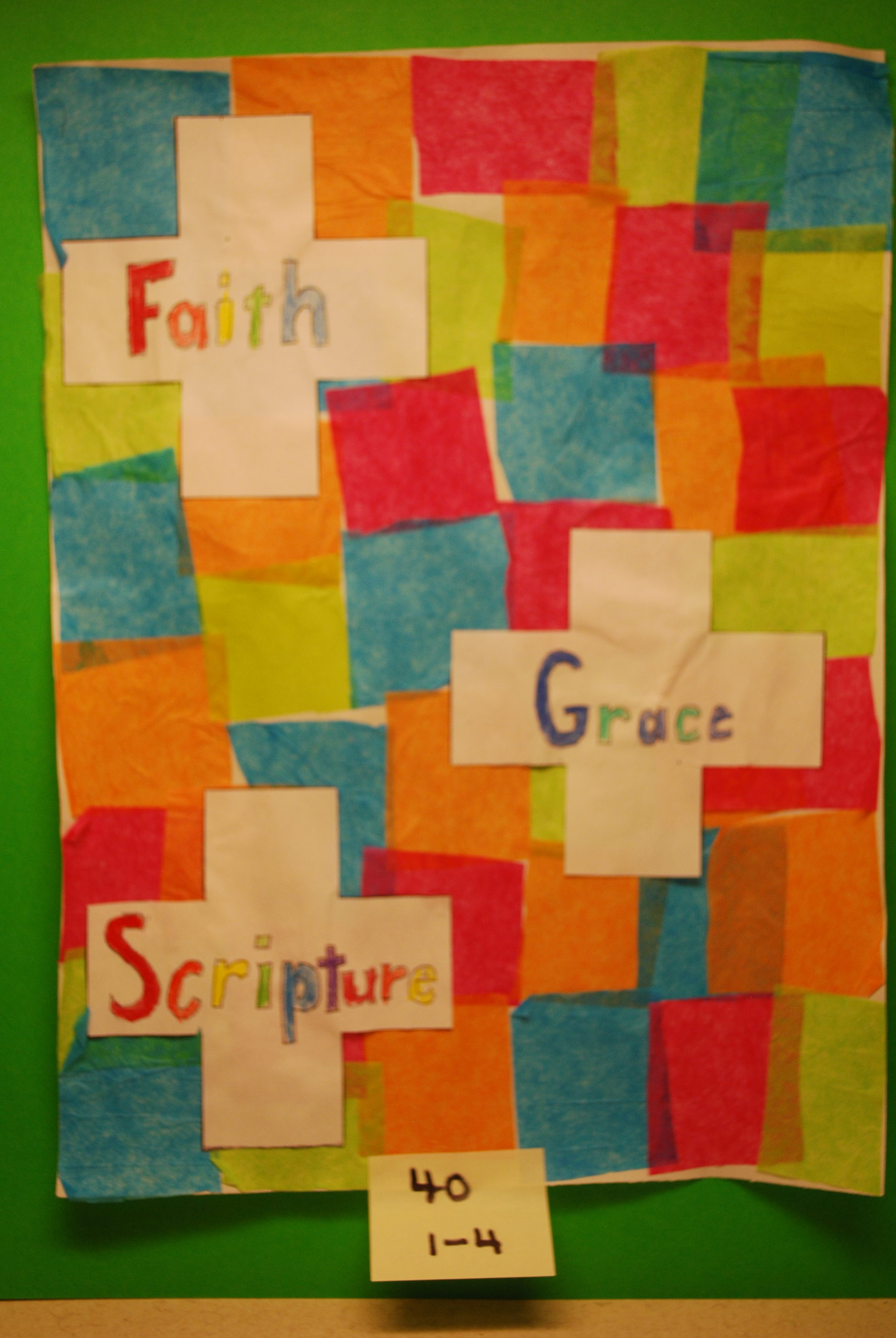 YAC 2020 #40 1-4 Faith Grace Scripture b