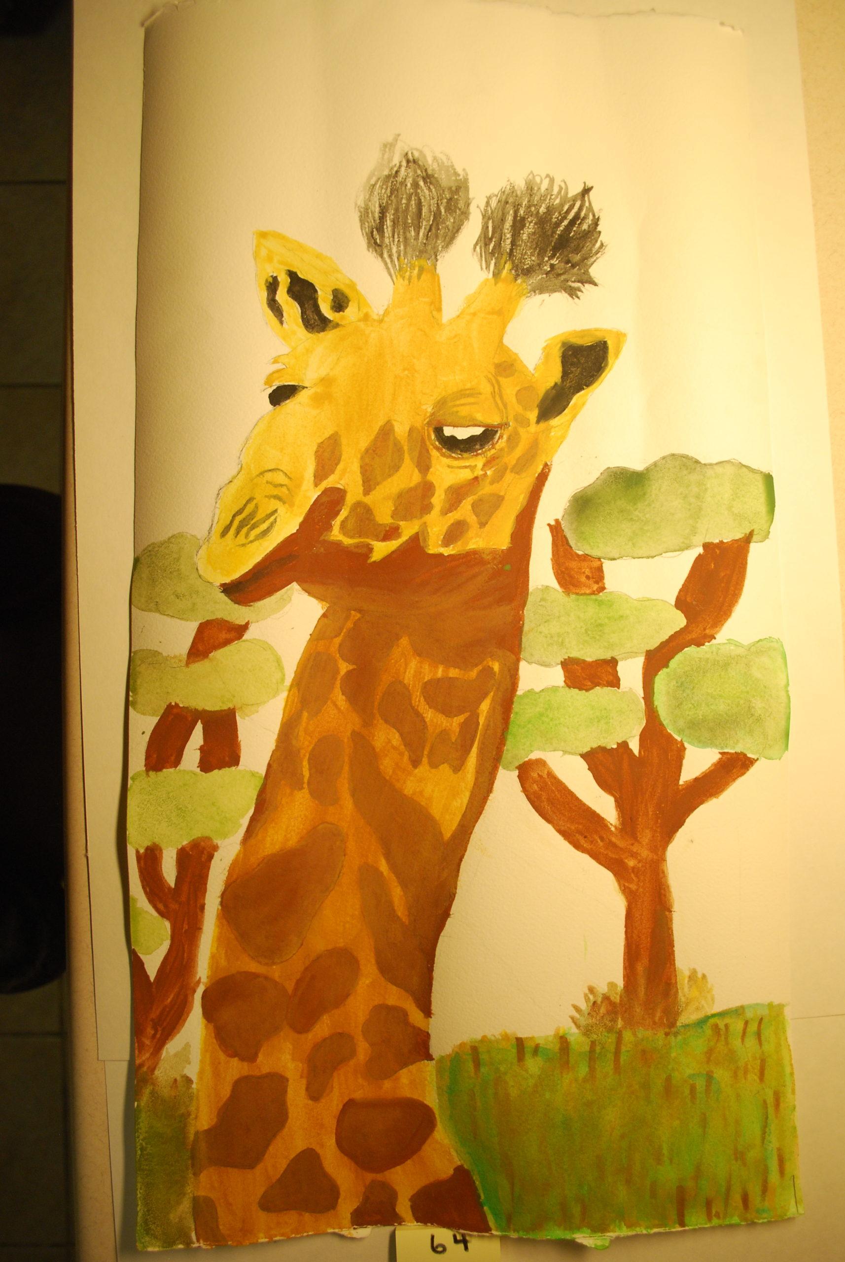 YAC 2020 #64 5-8 Giraffe a