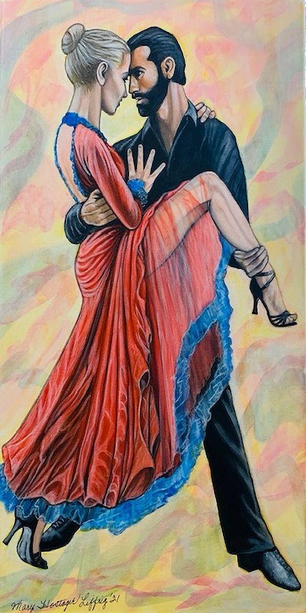 Tango by Mary Liffrig (Acrylic)